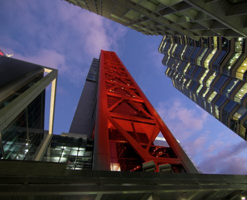 BHP Billiton Tower Outdoor LED Facade Building Lighting