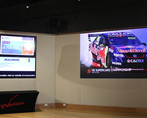 Blacktown Workers Club LED Screens and Video Wall