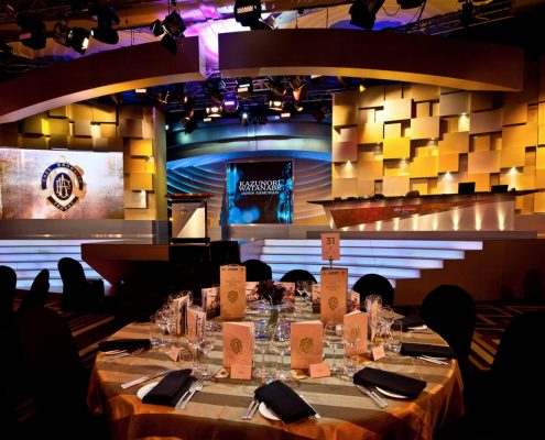Brownlow Medal Stage Lighting Design LED Screens Digital Display