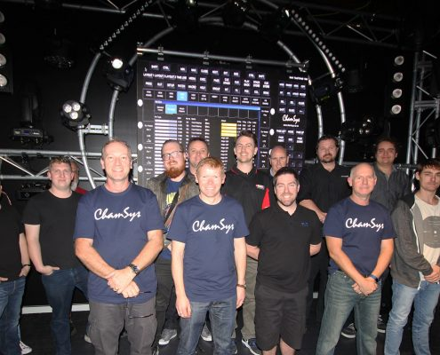 Chamsys Basic Training Lighting Display Production Crew