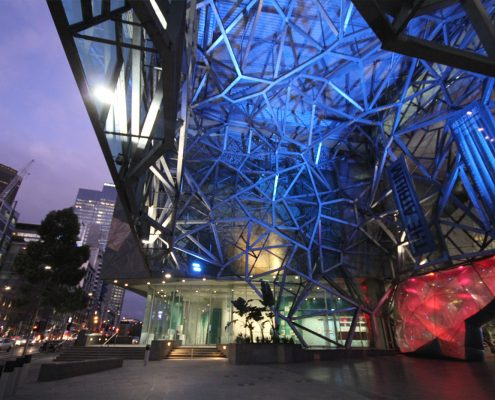 Federation Square Intelligent LED Architectural Lighting