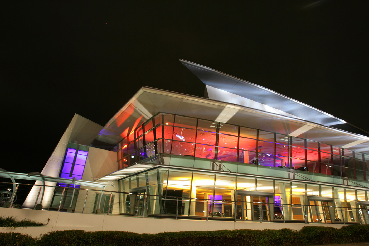 Gold Coast Convention and Exhibition Centre Building Facade Lighting and Indoor LED Lighting