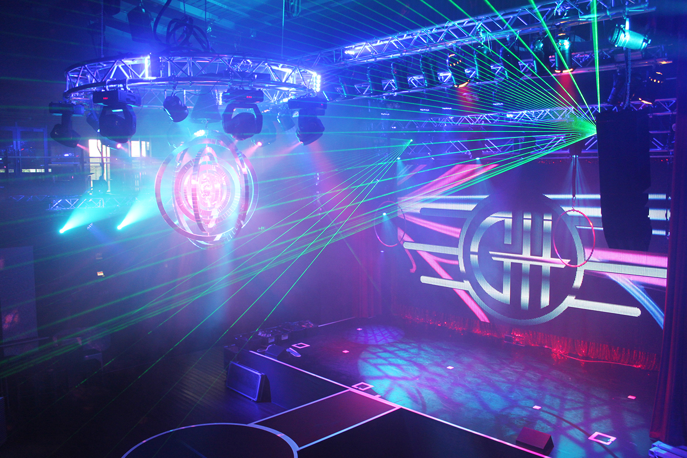 GH Hotel Theatre Lighting Stage Lighting Design and LED Screen Panels