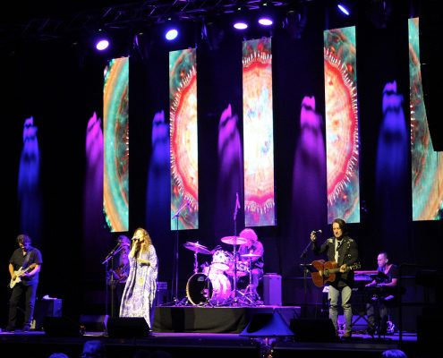 Gladstone Entertainment Centre Stage Lighting Design and LED Screen Panels