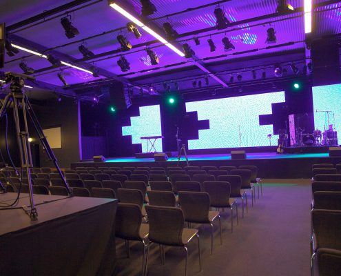 Life Church Theatre Lighting Stage Lighting Design and LED Screen Panels