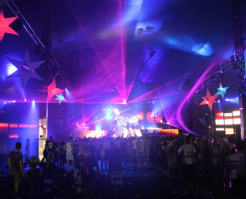 Paul Van Dyk Concert Stage Lighting Design LED Screens Digital Display