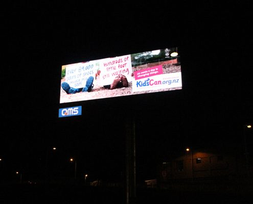 QMS Moorhouse Large Outdoor LED Billboard Digital Advertising