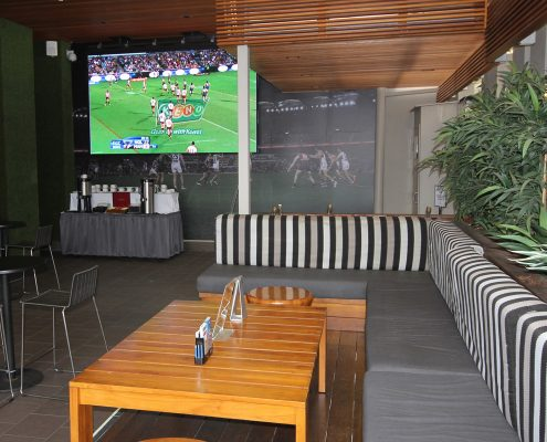 Southport Sharks Sports Bar Indoor LED Big Screen