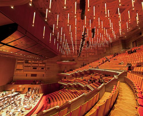 The Arts Centre Melbourne Indoor LED Theatre Lighting