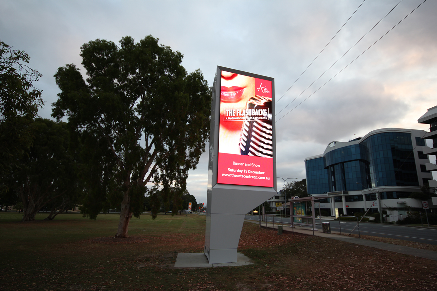 HOTA Gold Coast Outdoor LED Billboard Roadside Digital Advertising