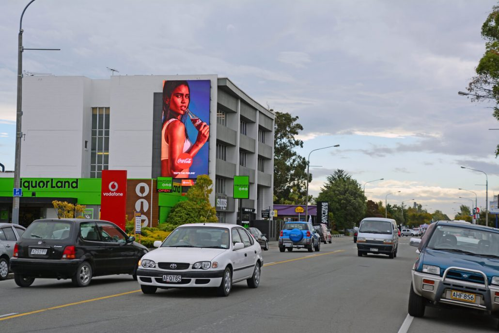Aura Riccarton Large Outdoor LED Billboard Digital Advertising