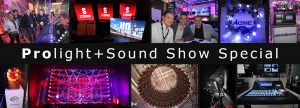 Prolight and Sound Show Special Light Show Collage
