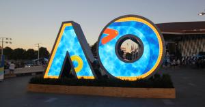 Australian Open Tennis Outdoor LED Screen Artwork Signage