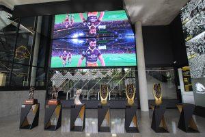 Brisbane Broncos Leagues Club LED Scoreboard and Trophy LED Spot Lights