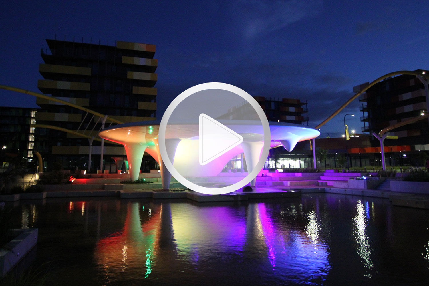 Comm Games Village Video Link Icon