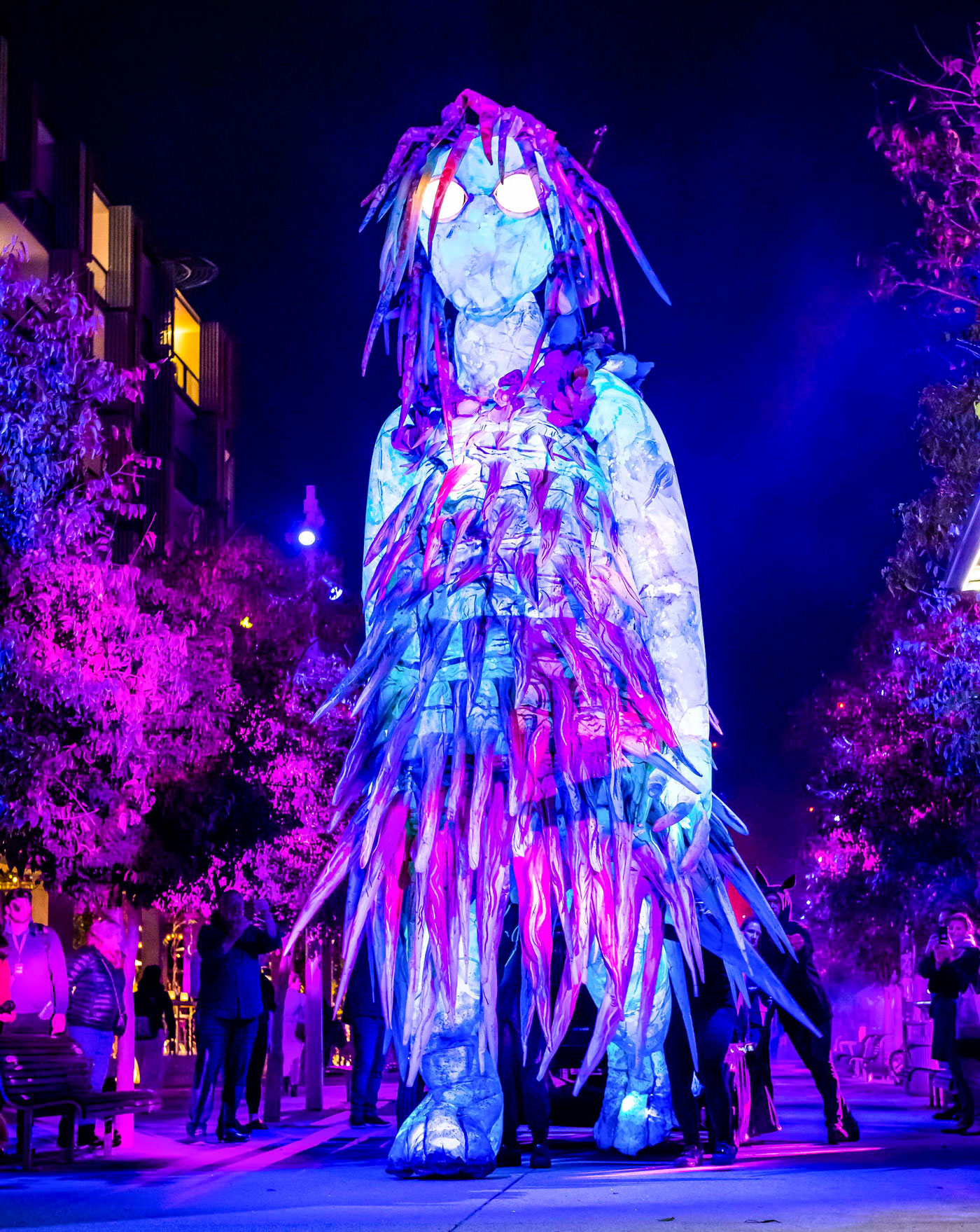 Vivid Festival Sydney The Liminal hour Lighting Display Artowrk
