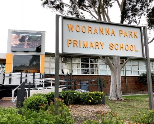 Wooranna Park Primary School LED Billboard