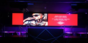 Famous Nightclub LED Billboard