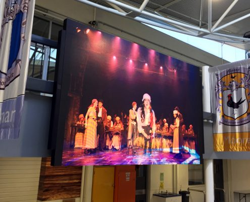 Carey Baptist Grammar LED Big Screen Digital Display