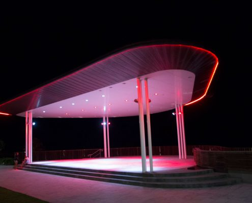 Yeppoon Beachfront Amphitheatre Theatre LED Display Lighting