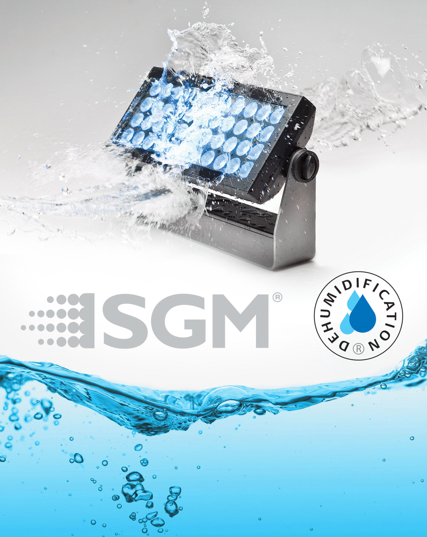 SGM Waterproof LED Fixture
