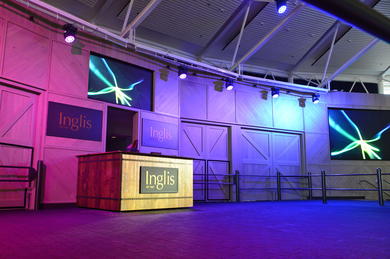 Inglis Riverside Stables Vuepix LED Screens Digital Display
